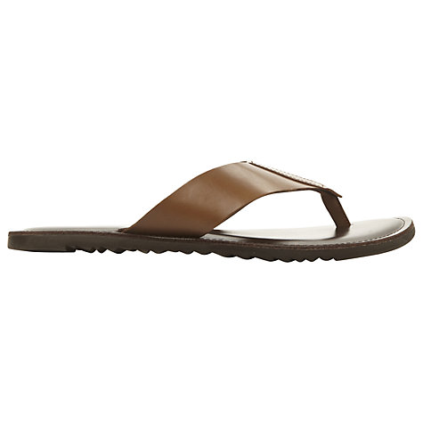 Buy Dune Inka Toe Post Canvas Sandals Online at johnlewis.com