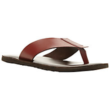 Buy Dune Inka Trail Leather Toe Post Sandals Online at johnlewis.com