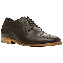 Buy Dune Raston Leather Brogue Derby Shoes Online at johnlewis.com
