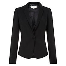 Buy Hobbs Avery Jacket, Black Online at johnlewis.com