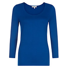Buy Hobbs Sophie Top, Bluebell Online at johnlewis.com