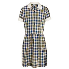 Buy Upton House School Summer Dress, Green/Multi Online at johnlewis.com