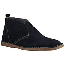 Buy Kin by John Lewis Tommy Suede Desert Boots, Navy Online at johnlewis.com