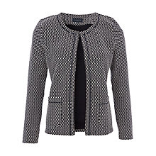 Buy Viyella Textured Jersey Cardigan, Navy Online at johnlewis.com