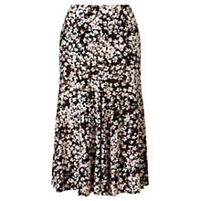 Buy Viyella Shadow Floral Skirt, Powder Pink Online at johnlewis.com