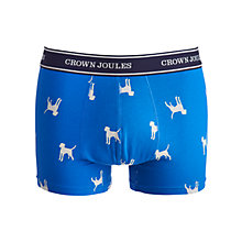 Buy Joules Top Dog Trunks, Blue Online at johnlewis.com