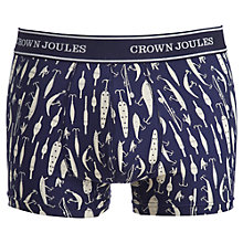 Buy Joules Nice Tackle Trunks, Pack of 3, Navy Online at johnlewis.com