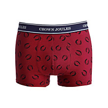 Buy Joules Lucky Pants Trunks, Wine Online at johnlewis.com