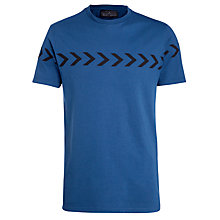 Buy Levi's Commuter Graphic Arrows T-Shirt, Blue Online at johnlewis.com