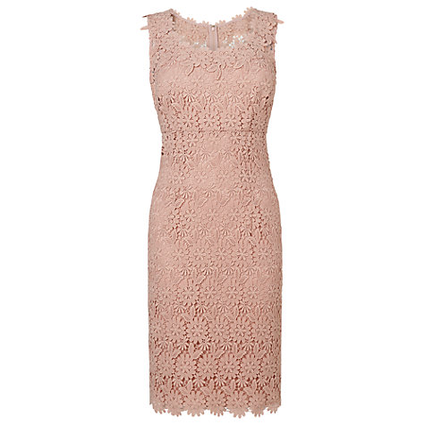 Buy Phase Eight Yves Lace Dress, Petal Online at johnlewis.com