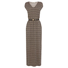 Buy Oasis Aztec Print Maxi Dress, Multi Online at johnlewis.com