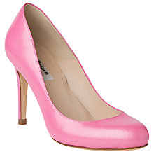 Buy L.K. Bennett Stila Leather Court Shoes, Candy Online at johnlewis.com