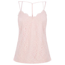 Buy Oasis Lace Strappy Cami Top Online at johnlewis.com