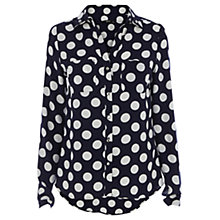 Buy Oasis Spot Shirt, Multi Online at johnlewis.com