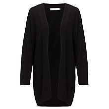 Buy John Lewis Capsule Collection Edge to Edge Cardigan, Black Online at johnlewis.com