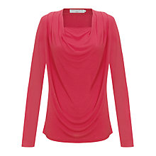 Buy John Lewis Capsule Collection Drape Neck Top Online at johnlewis.com