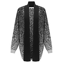 Buy John Lewis Capsule Collection Salt And Pepper Cardigan, Black/Grey Online at johnlewis.com