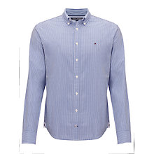 Buy Tommy Hilfiger Ivy Striped Long Sleeve Shirt, Shirt Blue Online at johnlewis.com
