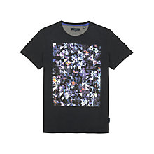 Buy Ted Baker Salen Graphic T-Shirt, Navy Online at johnlewis.com