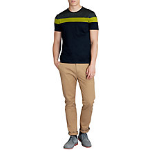 Buy Ted Baker Pintan Colour Block T-Shirt Online at johnlewis.com