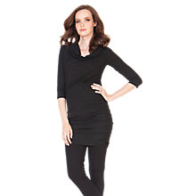 Buy Séraphine Sparkly Maternity Party Dress, Black Online at johnlewis.com