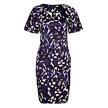 Buy Minimum Zoa Print Dress, Blackberry Wine Online at johnlewis.com