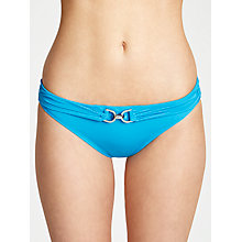 Buy MICHAEL Michael Kors Linked Solids Bikini Bottoms Online at johnlewis.com
