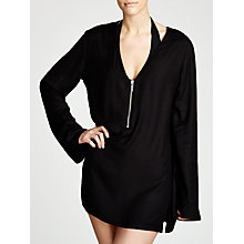 Buy MICHAEL Michael Kors Linked Solids Cover Up, Black Online at johnlewis.com