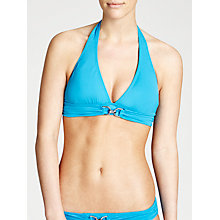 Buy MICHAEL Michael Kors Linked Solids Halter Bikini Top Online at johnlewis.com