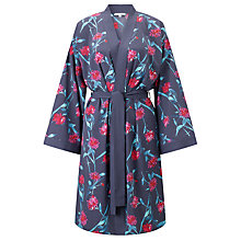 Buy COLLECTION by John Lewis Isla Print Kimono Robe, Haze Blue Online at johnlewis.com