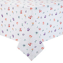 Buy John Lewis Country Tablecloth, Floral Online at johnlewis.com