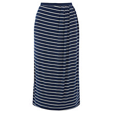 Buy Wishbone Tilly Jersey Stripe Skirt, Ivory/Navy Online at johnlewis.com
