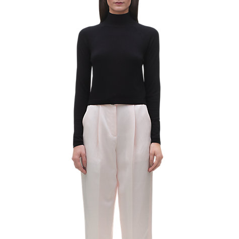 Buy Whistles Ella Cropped Turtle Neck Sweater Online at johnlewis.com