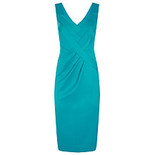 Buy Planet Sateen Panel Dress, Jade Online at johnlewis.com