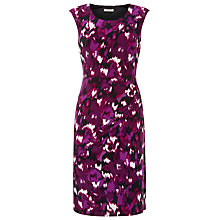 Buy Precis Petite Blurred Ikat Print Dress, Multi Dark Online at johnlewis.com
