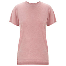 Buy Whistles Longline Split Hem T-Shirt Online at johnlewis.com