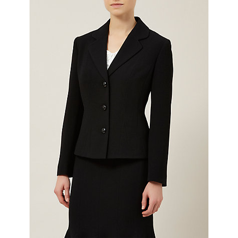 Buy Precis Petite Suit Jacket, Black Online at johnlewis.com