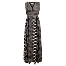 Buy East Festival Maxi Dress, Black Online at johnlewis.com