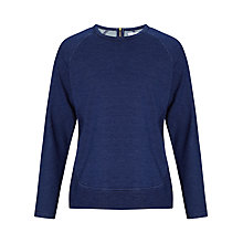 Buy Collection WEEKEND by John Lewis Sweat Top, Indigo Blue Online at johnlewis.com