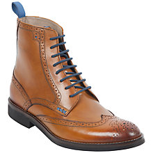 Buy Oliver Sweeney Airton Brogue Boots, Tan Online at johnlewis.com