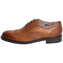 Buy Oliver Sweeney Cayton Brogue Shoes, Tan Online at johnlewis.com
