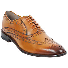Buy Oliver Sweeney Fellbeck Brogue Oxford Shoes, Tan Online at johnlewis.com