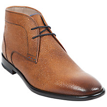 Buy Oliver Sweeney Temes Grain Leather Chukka Boots, Tan Online at johnlewis.com