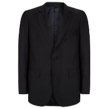 Buy Aquascutum Wool and Mohair Mix Jacket, Navy Online at johnlewis.com