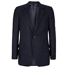 Buy Aquascutum Hopsack Clothier Finish Suit Jacket, Navy Online at johnlewis.com