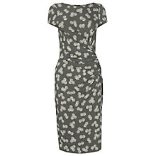 Buy Phase Eight Shell Print Dress, Grey/Ivory Online at johnlewis.com