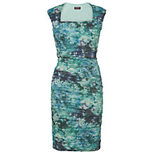 Buy Phase Eight Glacier Claudette Crush Dress, Glacier Online at johnlewis.com