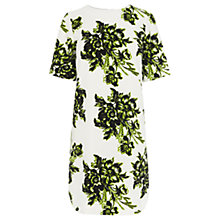 Buy Warehouse Giant Floral Shift Dress, Multi Online at johnlewis.com
