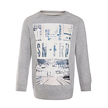 Buy John Lewis Boy San Francisco Sweatshirt, Grey Online at johnlewis.com