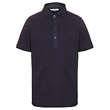Buy John Lewis Boy Polo Shirt, Navy Online at johnlewis.com